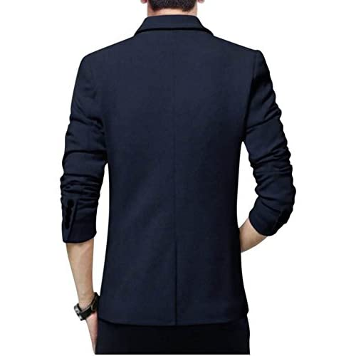 41JuBJkV7LL. SS500  - BELARIO Men Fashion Mens Navy Blue Casual Blazer (36)