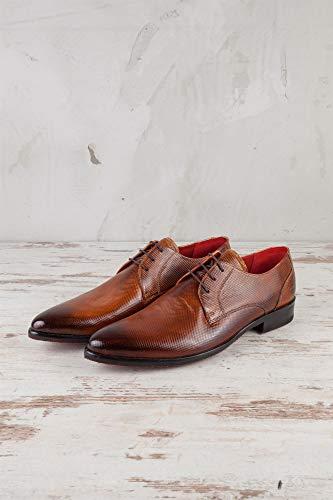 Hamilton EU 41 522 de pour Marron Marron Homme Lacets MH15 Chaussures amp; Ville Melvin à fq5R1