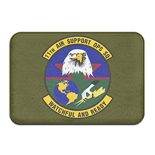 11th Air Support Operations Squadron Bathroom Rugs Indoor Outdoor Entrance Doormats Door Mats -
