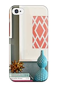 AnnDavidson Design High Quality Wall Decor Ideas Cover Case With Excellent Style For Iphone 4/4s by supermalls