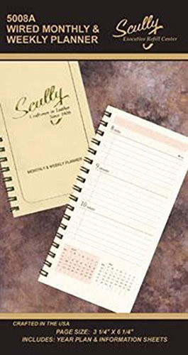 Scully Pocket Wire Bound Weekly Refill 2019