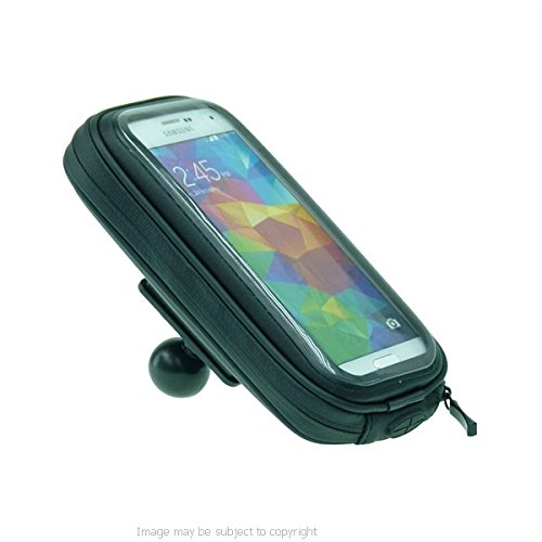 """Waterproof Protective Case with 1"""" Ball Adapter for Samsung Galaxy S5"""