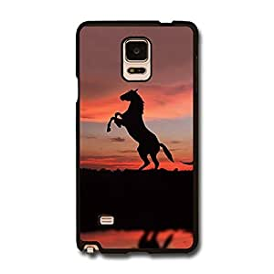 Galaxy Note 4 N9100 Case , Case For Galaxy Note 4 Case Custom Printed Horse Case For Samsung Galaxy Note 4