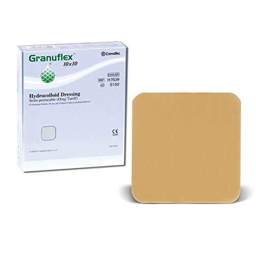 Granuflex Hydrocolloid Semi Permeable Dressings | Skin Wound & Burns Treatment by Granuflex