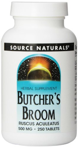 Source Naturals Butcher's Broom 500mg, 250 - Broom Way Natures Butchers