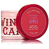 Bath and Body Works Winter Candy Apple Super Soft Body Butter with Shea Butter 10oz Full size
