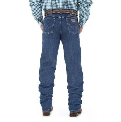 Wrangler George Strait by Men's Cowboy Cut Jean, Relaxed Fit, Heavyweight Denim,32 x 36 -