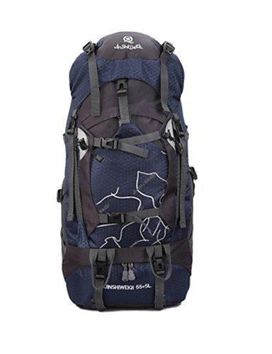 GXS Professional Outdoor Sport Reiten Camping wasserabweisend Multifunktions Schultern Bergsteigen Taschen Blau - blau
