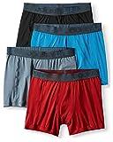 Jockey Life 4-Pack Men's Fresh Microfiber Stretch Boxer Briefs - Assorted Color (M)