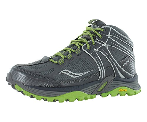 Saucony Women's Progrid Adventerra GTX Hiking Boot,Grey/G...