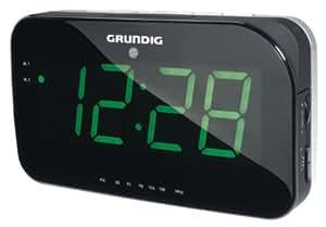 Grundig Sonoclock 490 - Radio despertador (LCD, Snooze, sleep timer), color negro