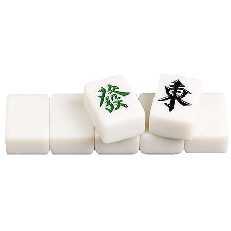 Z-TOY 144 Fichas De Mahjong Mahjong-Club Conjunto De Juguetes For ...