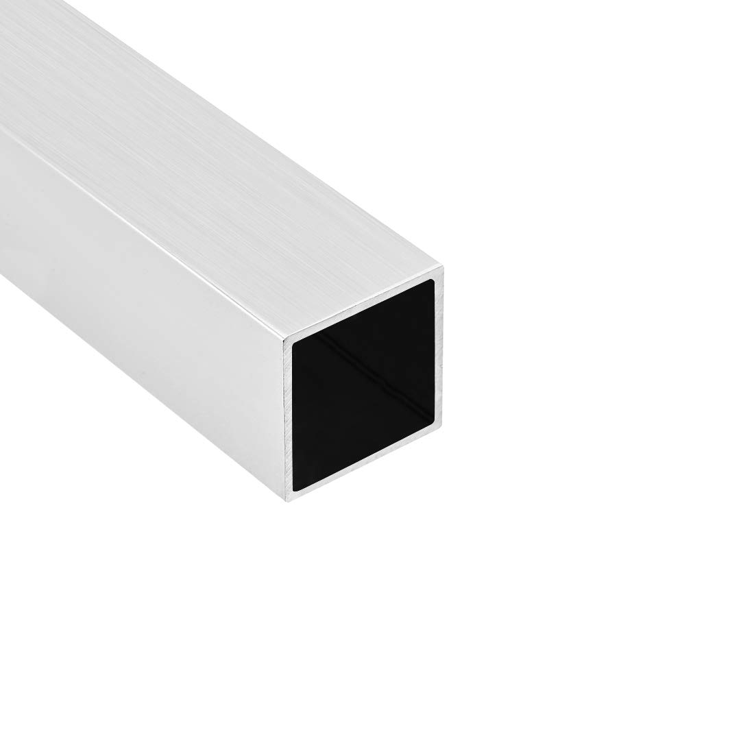 25mmx25mmx0.8mm Wall Thickness 200mm Length Seamless Straight Pipe Tubing 2 Pcs uxcell 6063 Aluminum Square Tube