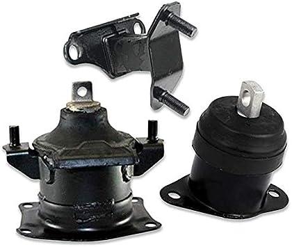 Engine Motor /& Trans Mount Manual 5PCS Set For 2003-2007 Honda Accord LX 2.4L