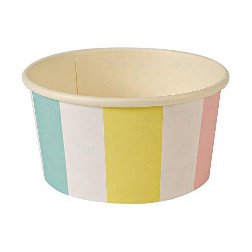 Meri Meri Stripe Ice Cream/Candy Cups ()