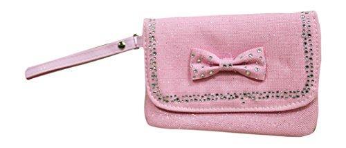 Pink Poppy Little Fashionista Wristlet, Pink