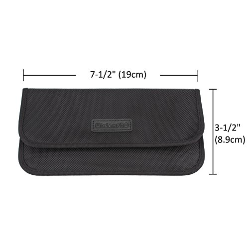 c4edc59dd ... Faraday Bag, Wisdompro RFID Signal Blocking Bag Shielding Pouch Wallet  Case for Cell Phone Privacy ...