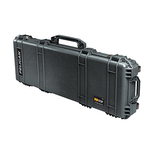 Pelican 1720 Rifle Case with Foam (Long Case, Multi-Purpose) - Black