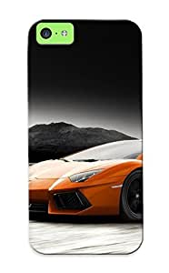 Lauriestroup Brand New Defender Case For Iphone 5c (lamborghini Aventador ) / Christmas's Gift
