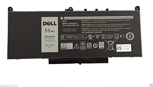New Genuine Dell Latitude E7270 E7470 55 Wh 7.6V Battery J60J5 by Dell