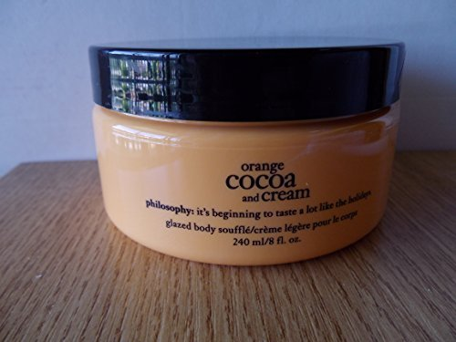 Philosophy Orange Cocoa and Cream Glazed Body Souffle 8 fl. oz by Philosophy