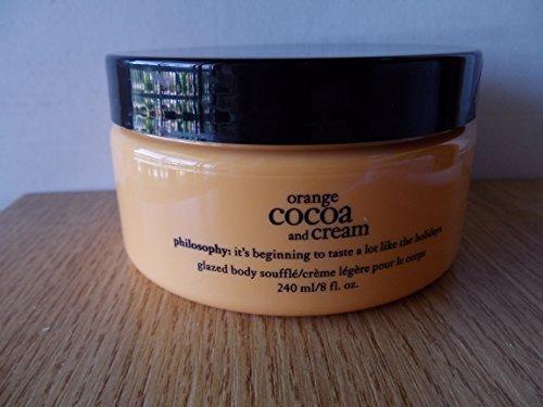 Philosophy Orange Cocoa and Cream Glazed Body Souffle 8 fl. oz