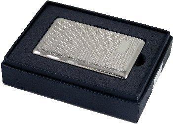 (Artamis Silver Tone Barley line Design Cigarette (7) Holder)