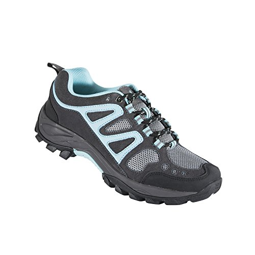 Browning SPG Outdoors Women's Delano Trail Shoes, Pavement/Blue Radiance, 8.5m ()