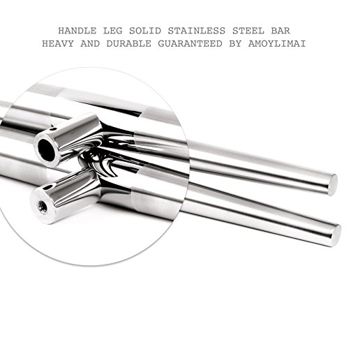 102 Modern Stainless Steel Sus304 Entrance Entry Commercial Office Store Front Wood Timber Glass Garage Aluminum Business Office Door Pull Push Handles Double-sided (64 Inches /1600x38mm) by amoylimai (Image #6)