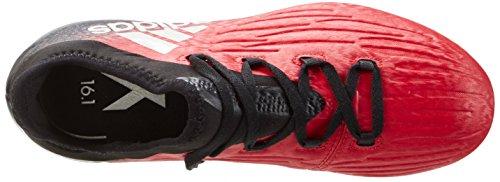 adidas X 16.1 Fg J, Botas de Fútbol para Niños Rojo (Redfootwear Whitecore Black)