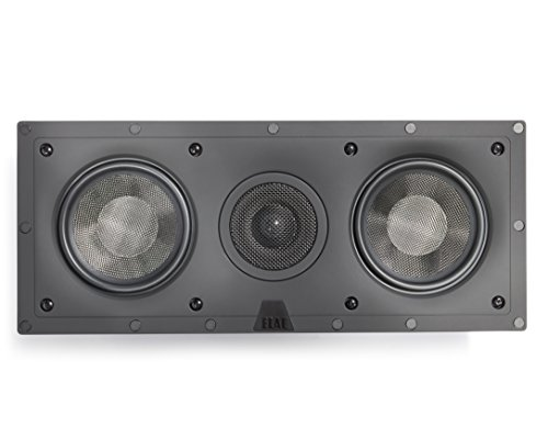 ELAC - Debut IW-DC51-W Custom in-Wall Center Channel Speaker (Ea)