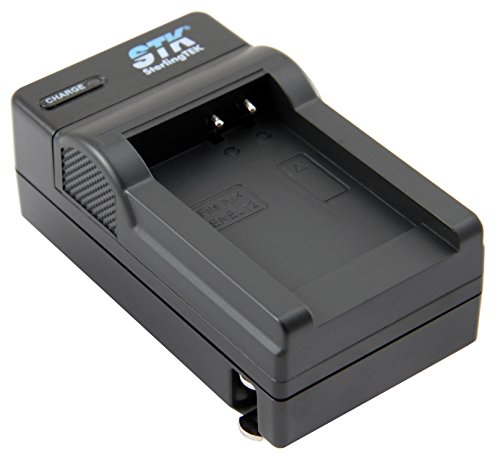 STK EN-EL12 Charger for Nikon Coolpix A900 AW130 AW120 S9900 S9500 W300 S9700 S9600 S6000 S8200 AW110 S9100 Cameras by STK