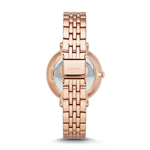 Fossil Women's ES3546 Jacqueline Rose Gold-Tone Stainless Steel Watch