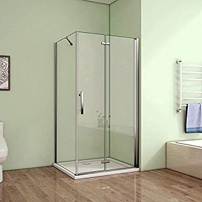 80 x 76 cm mampara de ducha cabina de ducha Puerta plana con ...