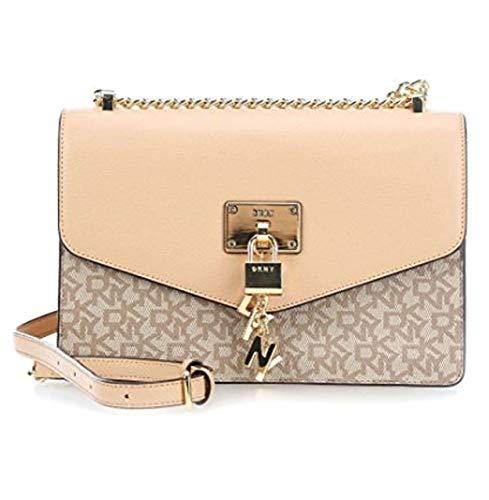 (DKNY Elissa Shoulder Bag beige)