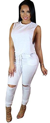 Kearia Sleeveless Drawstring Jumpsuits Rompers product image