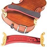 Kun Original Mini Red Shoulder Rest for 1/8 - 1/4 Violin