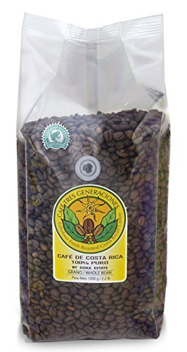 Doka Estate Gourmet Coffee Peaberry AA Doka Coffee/whole Bean, 2.2 lb