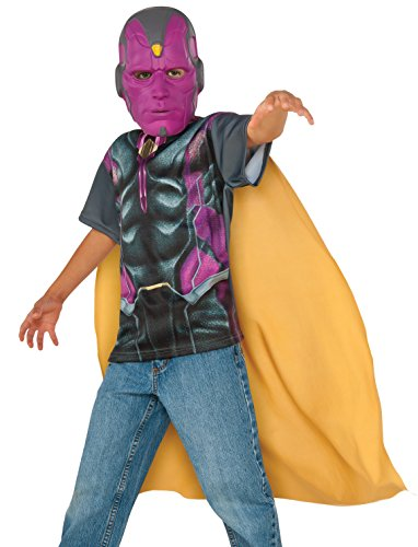 Rubie's Costume Captain America: Civil War Vision Child Top and Mask, Medium]()