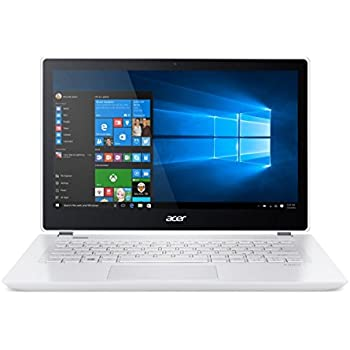 Acer Aspire V 13 V3-372T-75VV 13.3-inch IPS Full HD Touch Notebook - Platinum White (Intel i7-6500U, 8GB RAM, 512GB SSD, Windows 10)