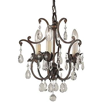 murray feiss f18803brb maison de ville mini crystal chandelier lighting 3lt