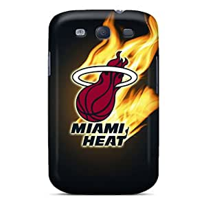 High Impact Dirt/shock Proof Case Cover For Galaxy S3 (miami Heat)