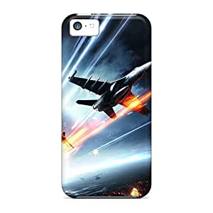New Fashion Premium Tpu Case Cover For Iphone 5c - Battlefield 3 Aircrafts