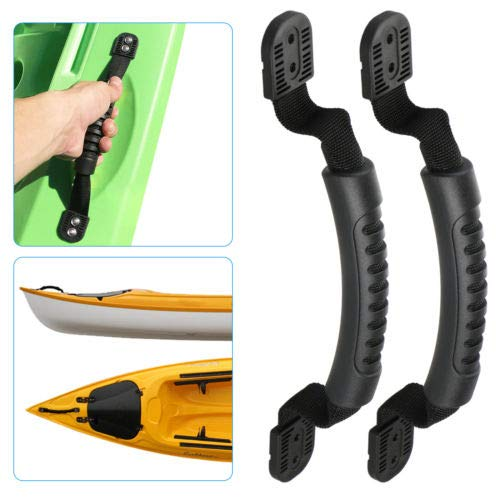 Meiyiu Rubber Boat Handle Luggage Side Mount Carry Handles for Kayak Canoe Boat,2pcs//Set