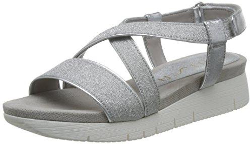 Unisa Besto-lmt - Sandalias de vestir de Piel para mujer Silver/silver