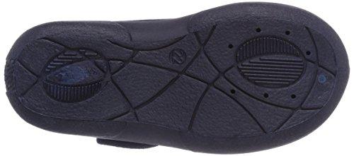 Fischer Mini Dino Marine - pantuflas de material sintético niño azul - Blau (marine 521)