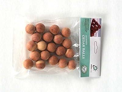 Smarter Living Cedar Balls, 60 Count