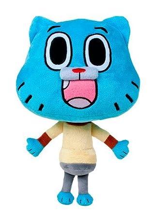 Le monde incoyable de Gumball - Peluche Gumball personnage bleu 28cm - Belle Qualité -