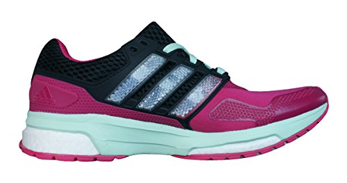 Boost 2 Womens Response adidas Shoes Running Trainers Techfit Pink RBw5Hn