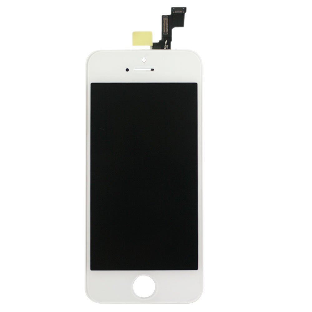 Amazon Full LCD Touch Screen Digitizer Assembly Replacement For Iphone 5s White Cell Phones Accessories